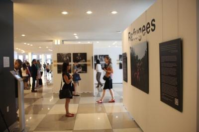 Refugees Exhibition, UN Visitors Lobby (c) ARG Media