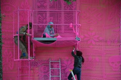 The Pink House in Avesta. Photo Mikael Bakaldin